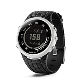 Suunto t1c Heart Rate Monitor and Fitness Trainer Watch (Black Panda)