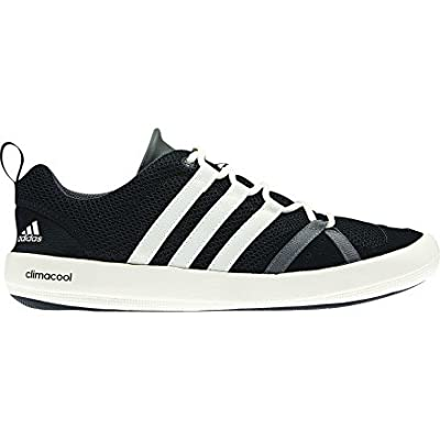 Adidas Outdoor Boat CC Lace Water Shoe - Men's Solid Grey/Chalk/Sharp Grey, 8.5
