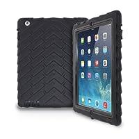 iPad 2/3/4 - Drop Tech - Ruggedized Case - Black-Black