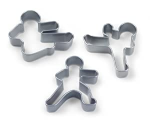 NINJABREAD MEN Cookie Cutters, Set of 3