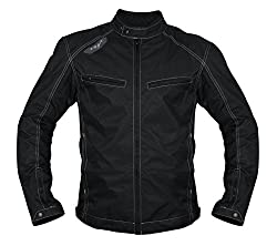 Vega JK 49 Riding Jacket (Black, XL)