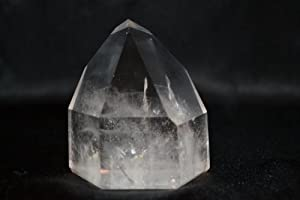 Quartz: Large Free Standing Clear Quartz Crystal Points: Healing Stones, Metaphysical Healing, Chakra Stones