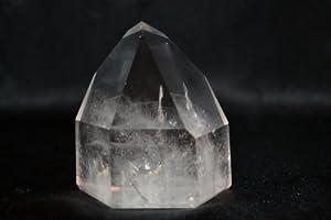 Quartz: Large Free Standing Clear Quartz Crystal Points: Healing Stones, Metaphysical Healing, Chakra Stones