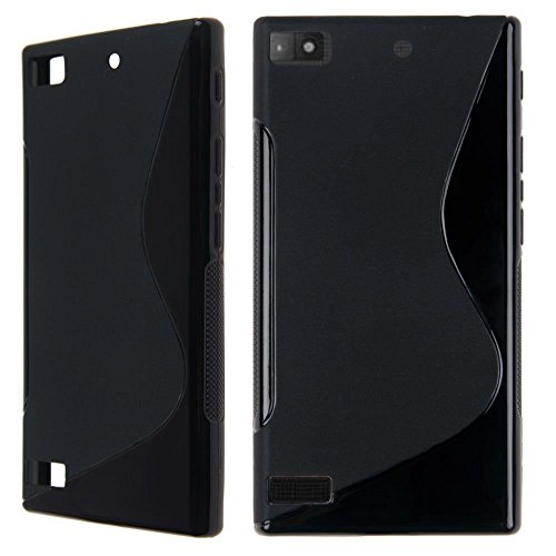 S Case Anti-skid Soft TPU Back Case Cover for BlackBerry Z3 (Black)  available at amazon for Rs.139