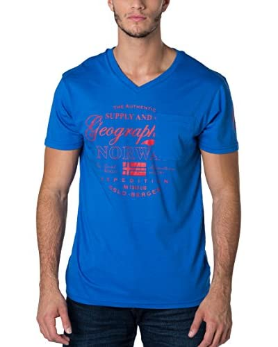 Geographical Norway T-Shirt Snht blau