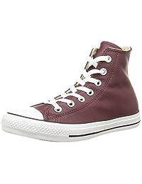 Converse Unisex Chuck Taylor Hi Bordeaux Basketball Shoe
