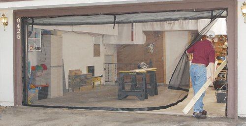 Check Out Fresh Air Screens Garage Door Screen Kit 16 X 7 For