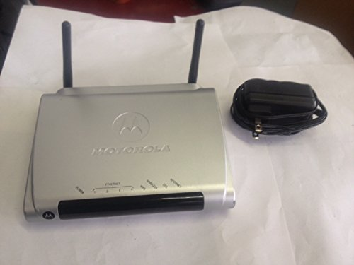 Motorola 2247-62-100T 4 Port Wireless Adsl Modem Router With Power Adapter