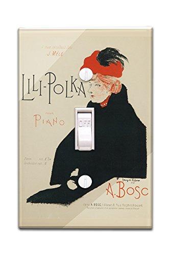 lili-polka-songsheet-vintage-poster-artist-villon-france-c-1900-light-switchplate-cover