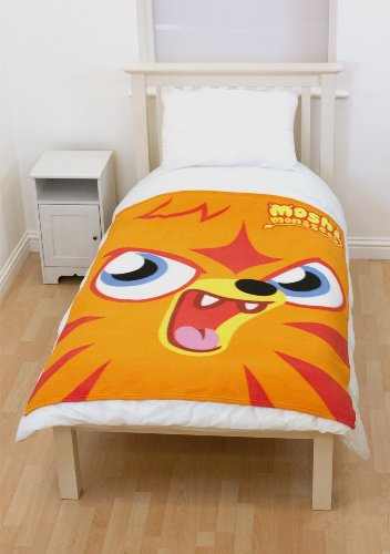Character World Moshi Monsters Monster Fleece Blanket