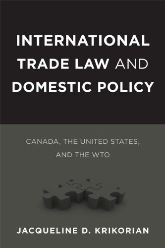 International Trade Law and Domestic Policy: Canada, the United States, and the WTO (Law and Society Series)