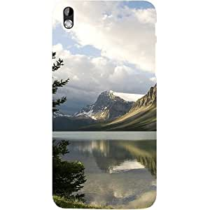 Casotec Mountains Design Hard Back Case Cover for HTC Desire 816