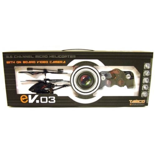 41IxhvceR0L EVO3 Micro Helicopter with Spy Camera and SD card