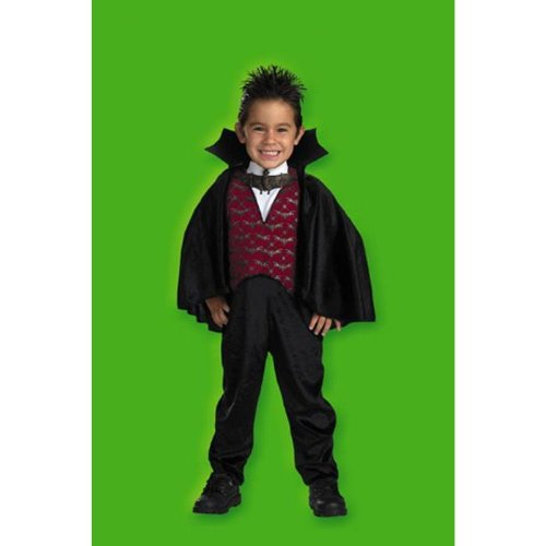 [Toddler Dracula Costume -Toddler Small (2T)] (Toddler Vampire Halloween Costumes)