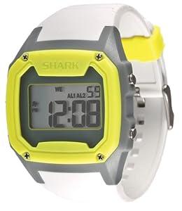 Freestyle Men's 101995 Shark Oversize Case Digital Retro Digital Grey Watch