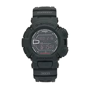 Casio Men's G-9000MS-1DR G-Shock Black Resin Digital Dial Watch