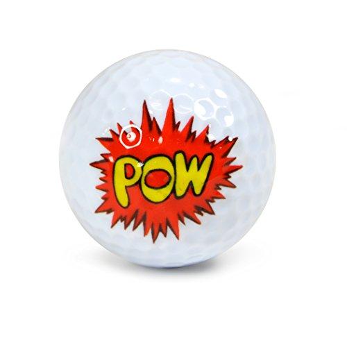 Nitro Nicks Underground Golf Ballsss Pow Wow Display Tube Golf Balls (3 Pack)