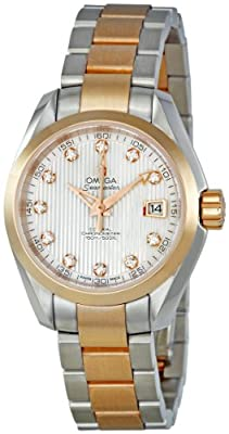 Omega Men's 231.20.30.20.55.001 Aqua Terra Mother Of Pearl Dial Watch