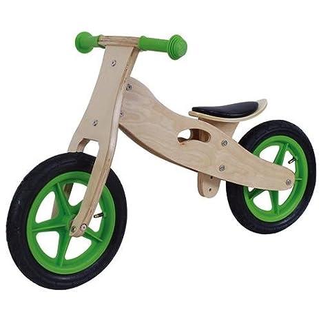 12 pouces draisienne Greenhorn en bois vert / nature vélo dŽapprentissage