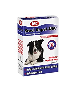 Mark & Chappell Stool Repel-UM for Dogs, 30-Tablets
