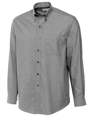 Cutter & Buck Long Sleeve Oxford Shirt - Big & Tall Sport Shirts