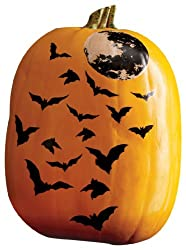 Martha Stewart Crafts Flying Bats Pumpkin Transfers