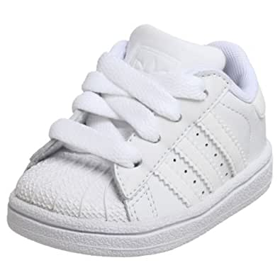 adidas Originals Superstar II Sneaker (Little Kid/Big Kid),White/White/White,11 M US Little Kid