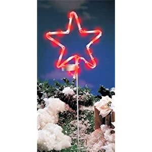 Click to read our review of Christmas Solar Lights: Solar Power Christmas Star Light