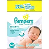 Pampers Sensitive Wipes 21x Box (1344 Count) , Pampers -hfer