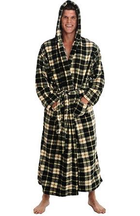7c45747601 Arus Men s Monk Style Full Length Hooded Heavy Turkish Cotton Bathrobe