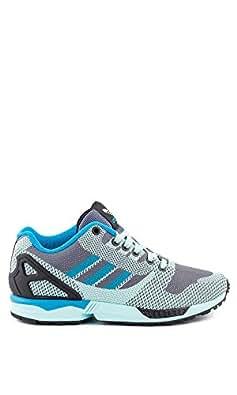 Amazon.com: Adidas Men's ZX Flux Weave , ONIX/FROZENMINT/BLACK: Shoes