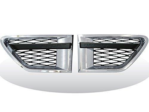 Range Rover Sport L320 Seitenspiegel Öffnungen Chrom mit schwarz sport Buchstaben 2010 DRAUF