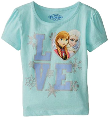 Frozen Elsa & Anna Love T-Shirt for Toddlers
