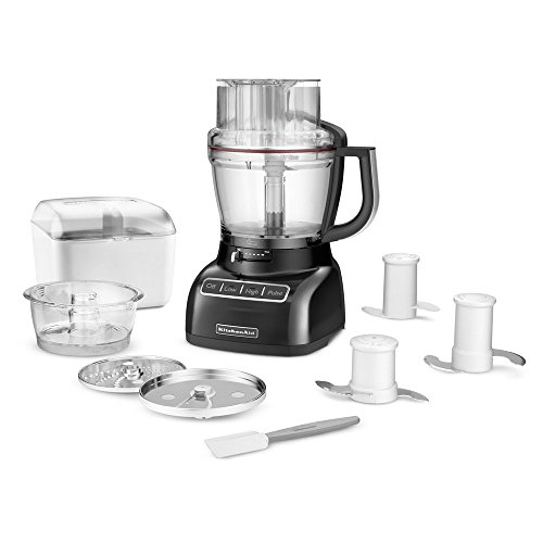 Brand New Kitchenaid 13-Cup Food Processor, Kfp1333Ob, Onyx Black front-79726