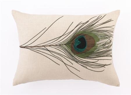 Peacock Feather Design Bedding