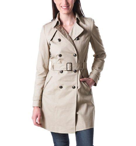 promod trench femme ceintur beige 34 manteaux. Black Bedroom Furniture Sets. Home Design Ideas