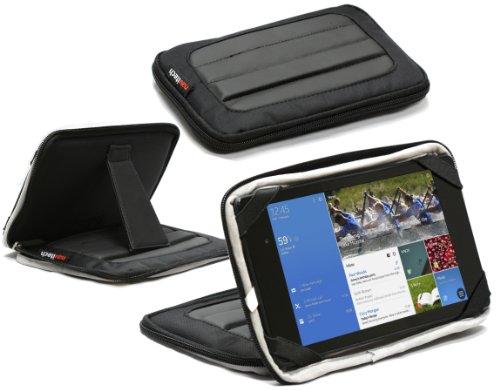Navitech schwarzes Hart Neoprene Schutz Case Cover für das Asus Memo Pad ME 172V / Asus Memo Pad 7 HD / Asus FonepadME 172V / Asus Memo Pad 7 HD / Asus Fonepad