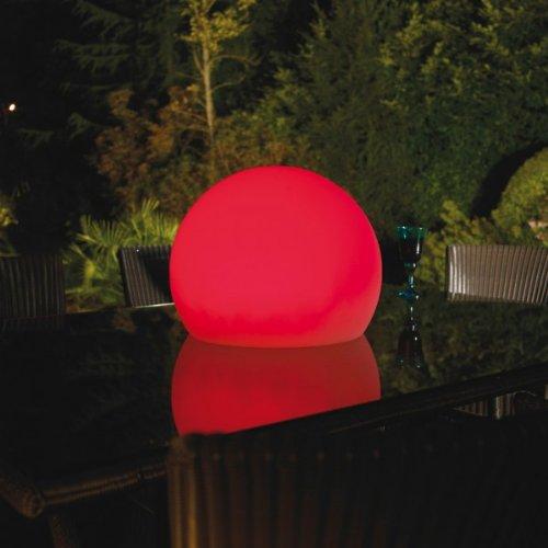 LED BALL, Stehleuchte, Made in England, LED Beleuchtung (7 Farben), Wetterfest (IP 65), inkl.Fernbedien günstig kaufen