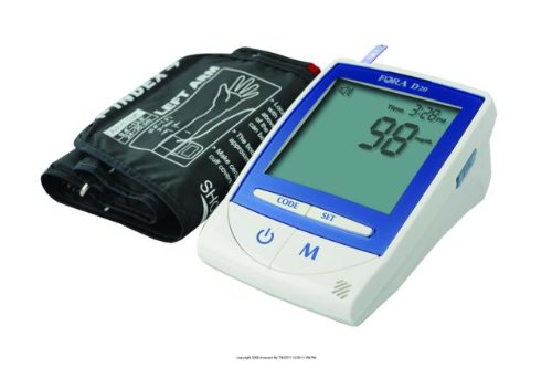 Cheap (EA) FORA D20 2-in-1 Blood Glucose/Blood Pressure Monitor (ISG-FCI2444EA)