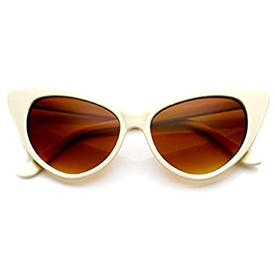 Cat Eye Glasses Creme
