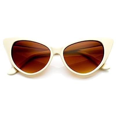Cat Eye Glasses Creme