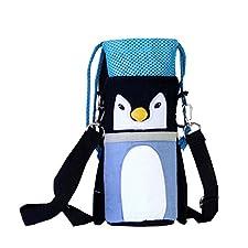 Isolé bébé / enfants Bouteille Tote Bag Portable Fashion Biberon Sac penguin