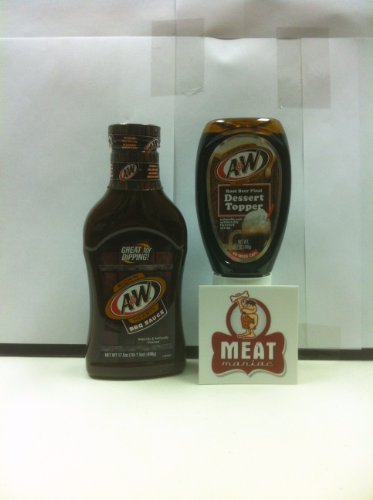 MEAT MANIAC A&W Root Beer Sauces Combo Gift Pack