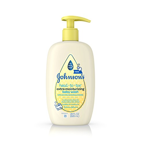 Johnson's Head-To-Toe Extra Moisturizing Baby Wash, 28 Fl. Oz
