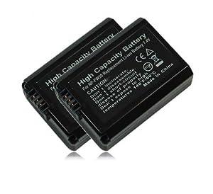 M&L Mobiles® | 2x Batería NP-FW50 NPFW50 para Sony NEX-5 | NEX-5A | NEX-5D | NEX-5H | NEX-5K | NEX-5N | NEX-3 | NEX-3A | NEX-3D | NEX-3K | NEX-6 | NEX-7 | NEX-C3 | NEX-F3 - Sony SLT-A33 (α33 | alpha 33) | SLT-A35 (α35 | alpha 35) | SLT-A37 (α37 | alpha 37) | SLT-A55 (α55 | alpha 55) | SLT-A55V (α55V | alpha 55V) - Electrónica - Comentarios y más información