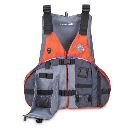Mti adventurewear solaris f spec kayak fishing pfd life for Best kayak fishing pfd
