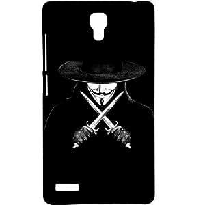 Casotec Kill Design Hard Back Case Cover for Xiaomi Redmi Note 4G