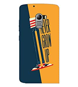 PrintDhaba Quote D-6002 Back Case Cover for LENOVO VIBE K4 NOTE (Multi-Coloured)