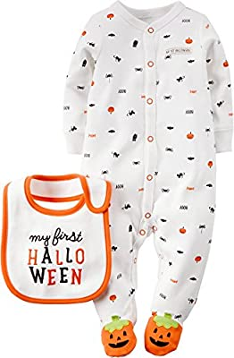 Carter's Sleep n Play Infant Halloween Outfit