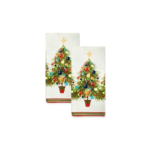 Fiesta Holiday Gatherings Terry Kitchen Towel Set of 2